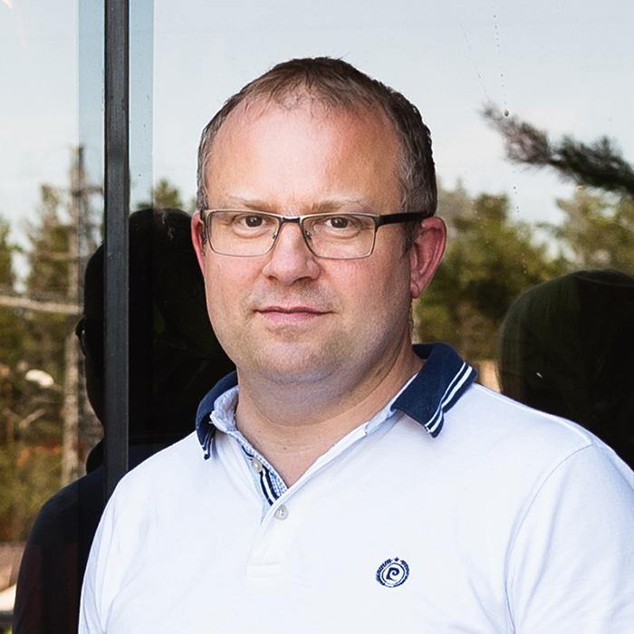 Responsible of sales Marti Planken - Myynti Ferramare